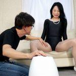 二ノ宮慶子50歳が学生用水着やレオタード姿でセックス!おばさんのコスプレファックが超エロい!