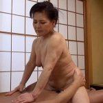 中島洋子71歳、AVデビュー作で孫男優と2発発射の元気なおばあちゃん