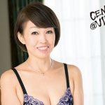中洲瑞江さんはショートボブで細身な五十路熟女の超エロ濃厚ディープキスで唾液交換する