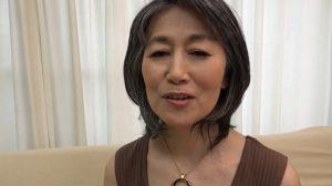 白髪老婆でAV再デビュー 桔梗和子62歳が還暦越えの野獣セックス
