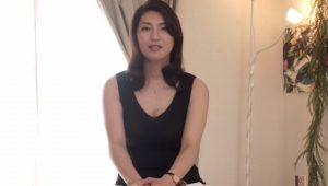 170cmでFカップの長身スレンダー四十路熟女 大石紗季43歳ガチイキを繰り返すスケベ妻